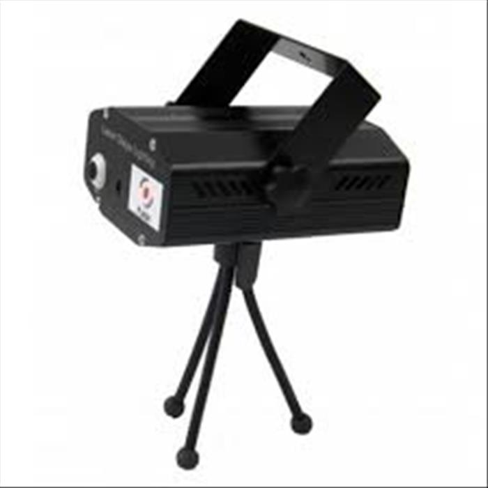 Effetto laser IMG STAGE LINE F4000202 MINI LASER GREEN + RED + 8 GOBO