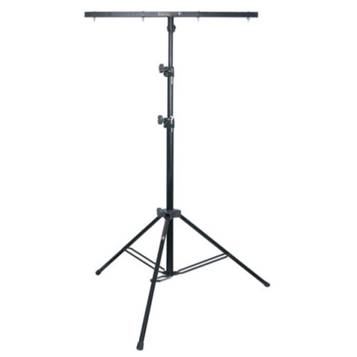 STAND LUCI SHOWTEC METAL MEDIUM LIGHTSTAND (70910) IN ACCIAIO ALTEZZA: 1135 - 3000 MM COMPLETO DI T-BAR